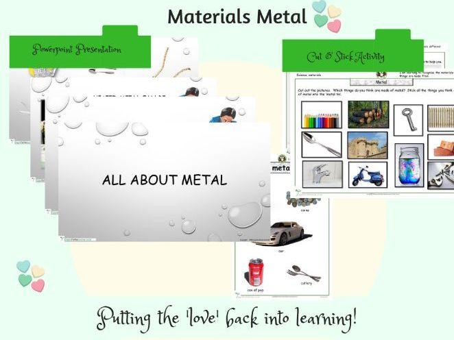 Metal materials bundle Science SEN KS1