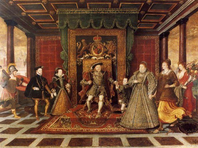 *Updated* Elizabeth I's Character and Background - Henry VIII, Anne Boleyn, Edward VI and Mary I