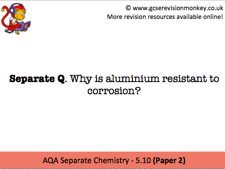 Revision Cards - AQA Separate Chemistry 5.10