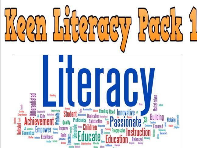 Keen Literacy Pack 1