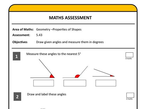 Maths Squared  - Assessing Year 5 Maths Without Levels - A complete scheme