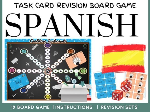 Spanish GCSE board game