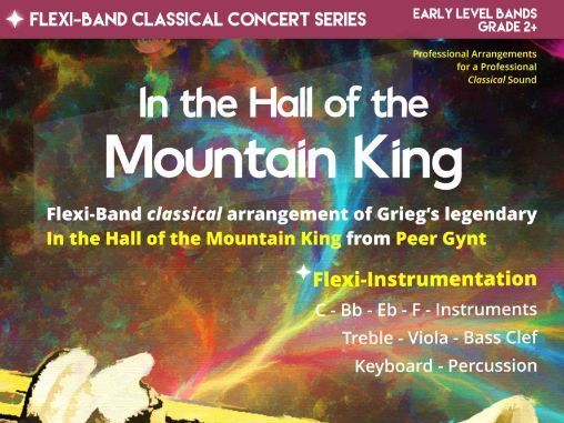 In the Hall of the Mountain King (Flexi-Band Score & Parts)