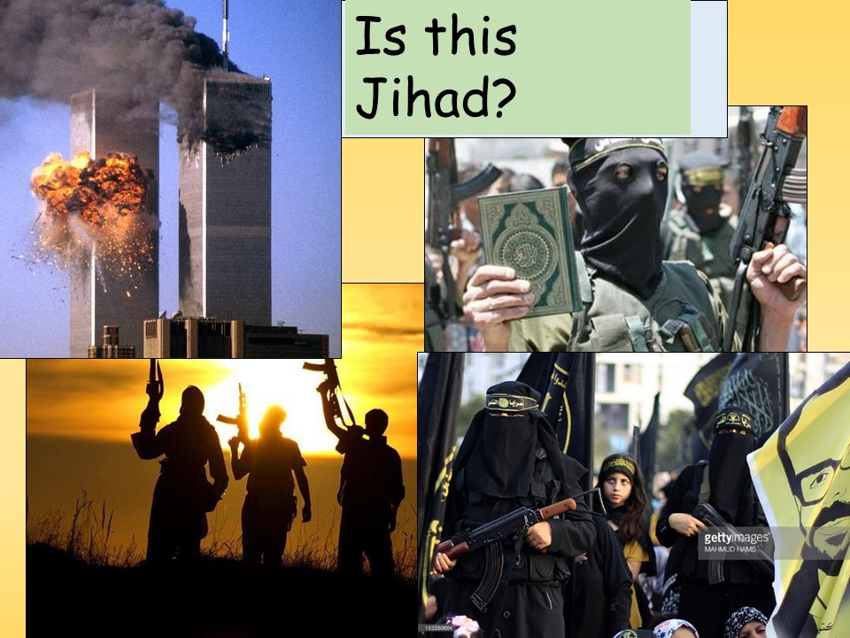 Lesson Year 8 Jihad