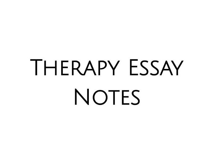 WJEC A LEVEL PSYCHOLOGY Therapy Descriptions/Notes
