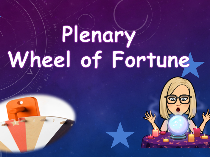 Plenary Wheel of Fortune