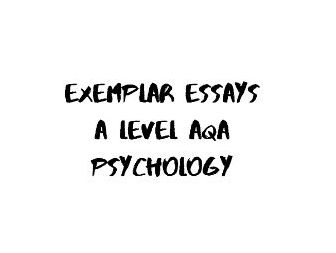 AQA A Level Psychology - Ethical Issues model essay answer