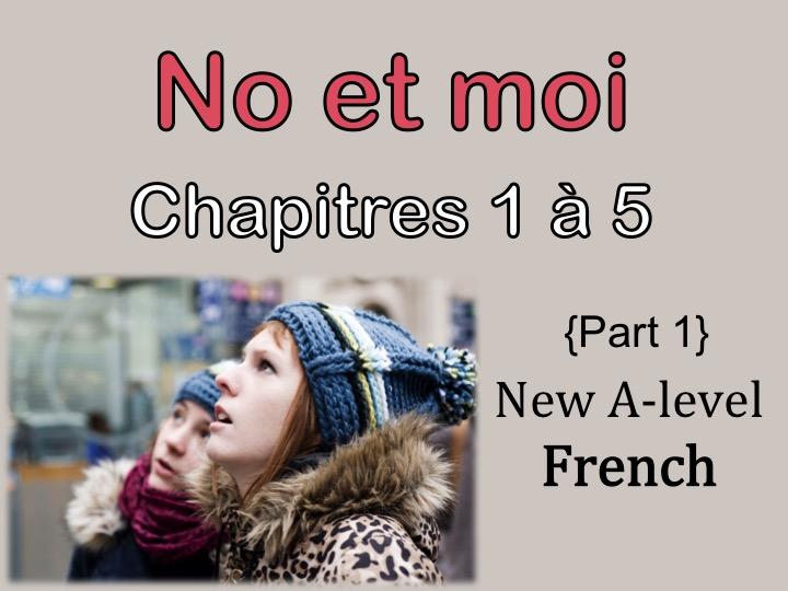 NO et MOI {Part 1} - Etude des chapitres 1 à 5 {New A-level and A2}