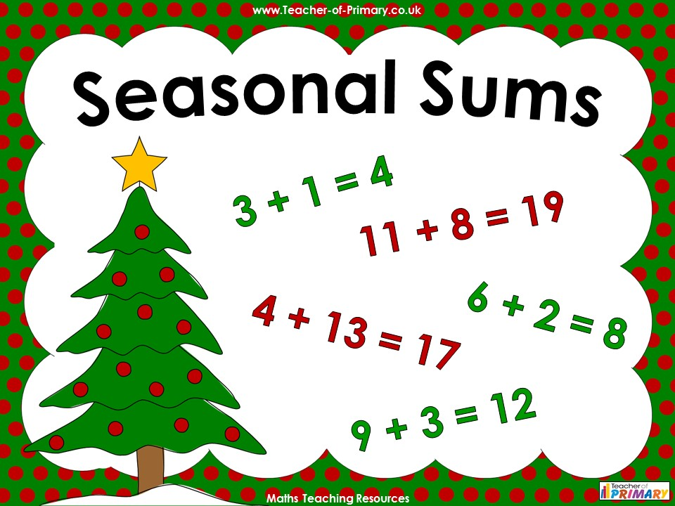 Seasonal Sums - Year 1