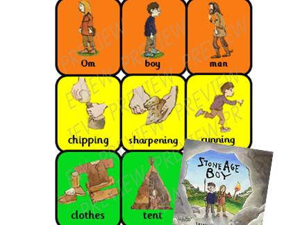 Stone Age Boy Colourful Semantics