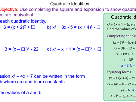 Solving Quadratic Identities