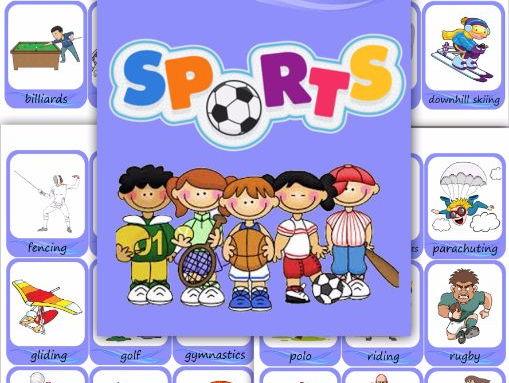 sports - Esl Halloween Games
