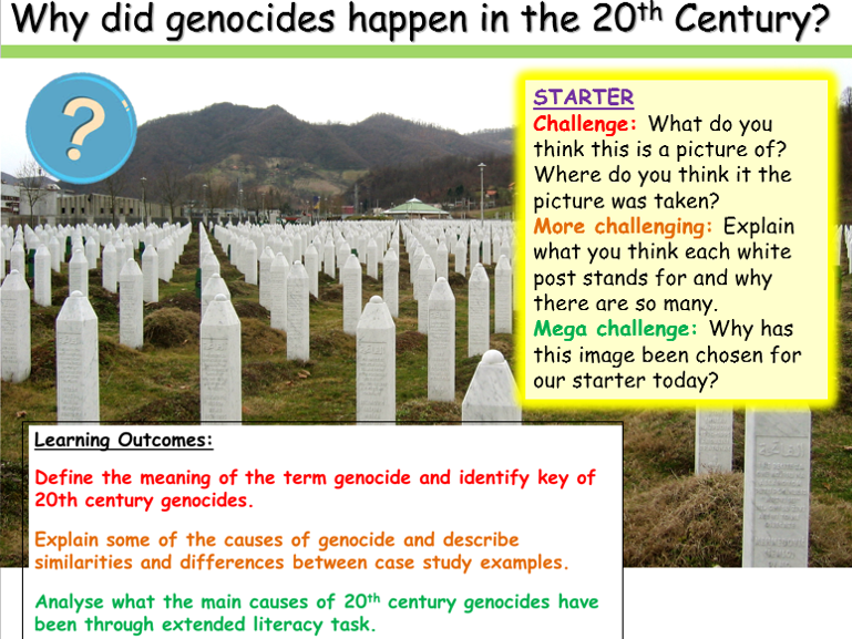 Genocide - 20th Century History