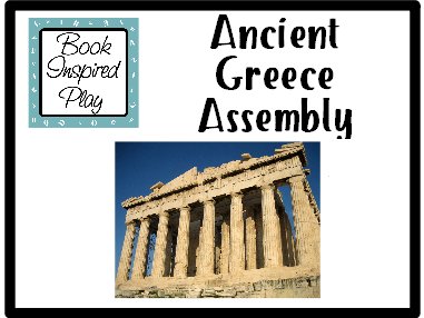 Ancient Greece Class Assembly **Fully Editable**