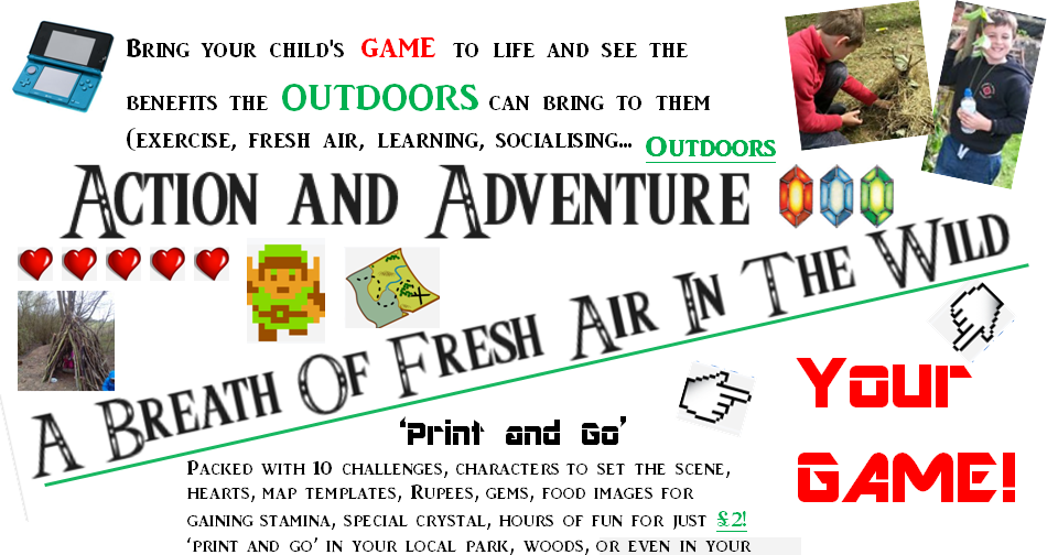 A Breath of Fresh Air in the Wild (Zelda Inspired) Computer game inspired outdoor