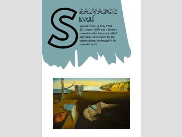 Artist A to Z | S | Salvador  Dalí | Surrealism | Dream Landscapes