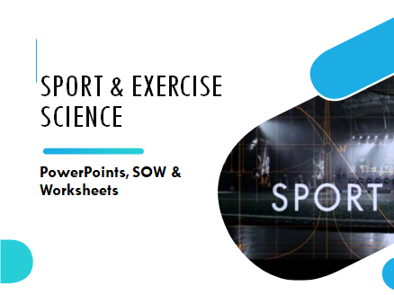 Level 2 Sport: Unit 11 Running a Sports Event (Full unit with PowerPoint, SOW & Worksheets)