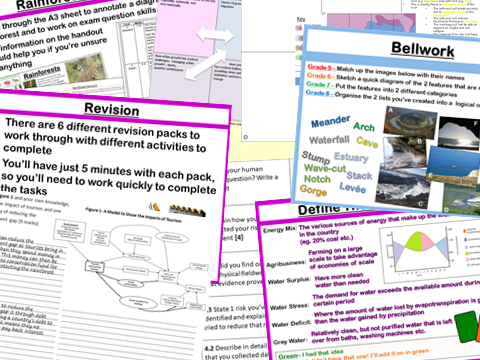 AQA GCSE 9-1 Geography Revision Lessons