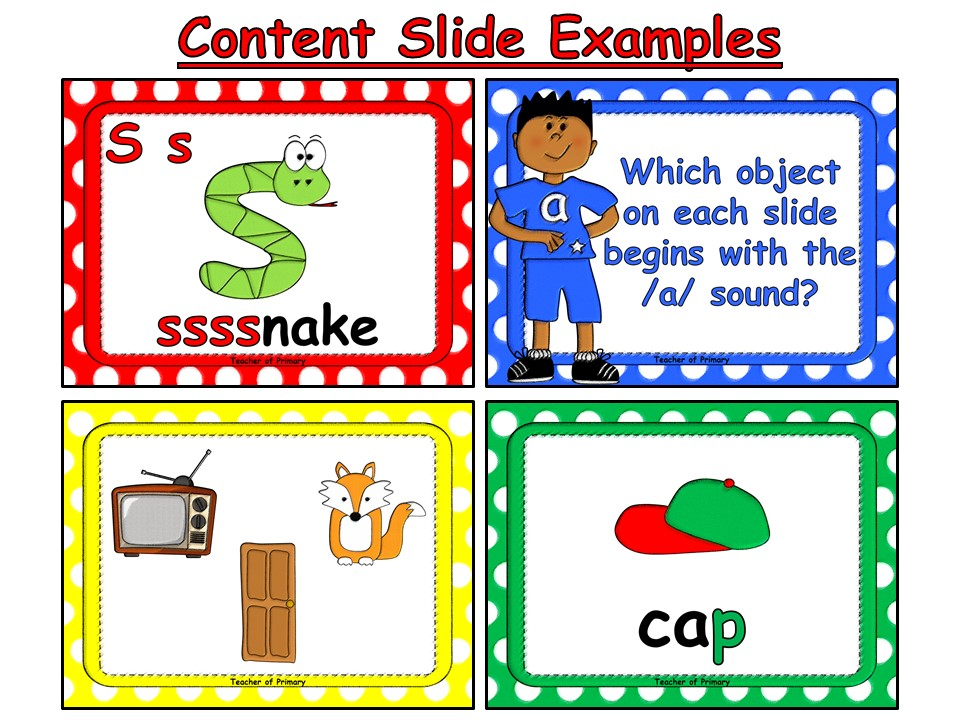 s, a, t, p - Letters and Sounds - Phase 2, Set 1