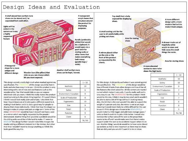 Criterion 3 Guide - New IGCSE Cambridge Resistant Materials (2018-22) (Presentation and worksheets)