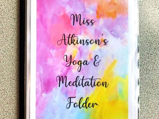 Yoga and Meditation Booklet