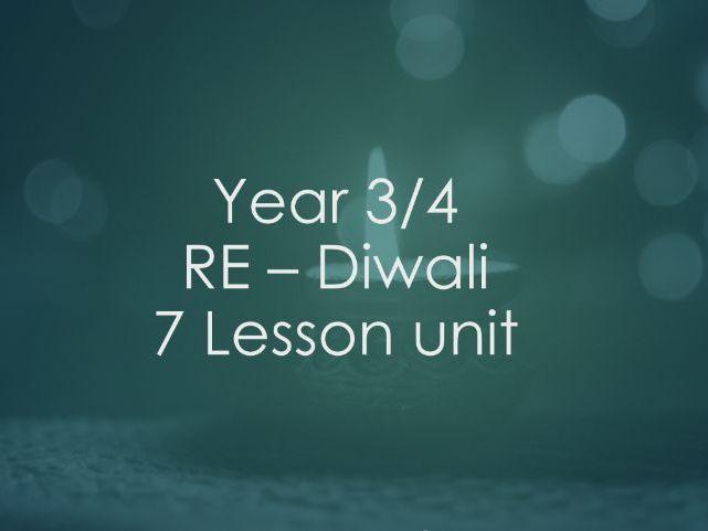 KS2 RE Diwali 7 Lesson Unit