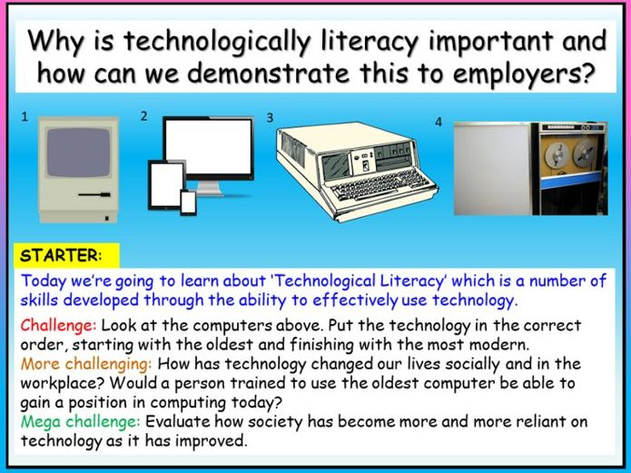 Employability Skills - Computer Literacy