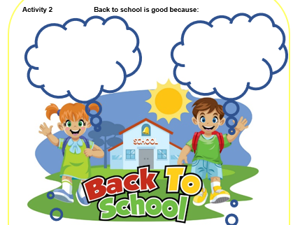 Get September Ready 'Back on Track'  KS1 Pack