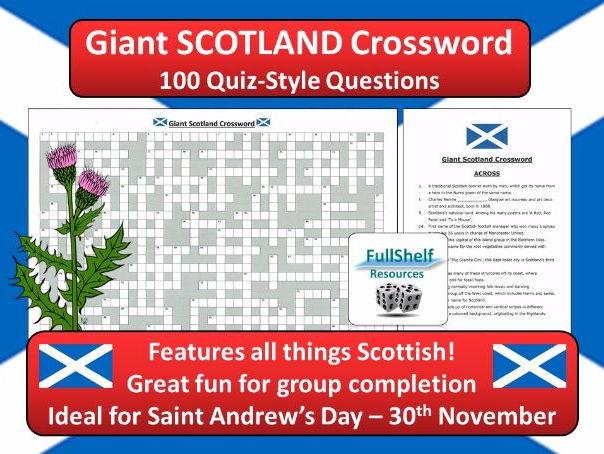 Scotland Crossword