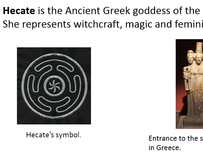 Hecate In Macbeth Aqa Gcse By Benjrose89 Teaching Resources Tes
