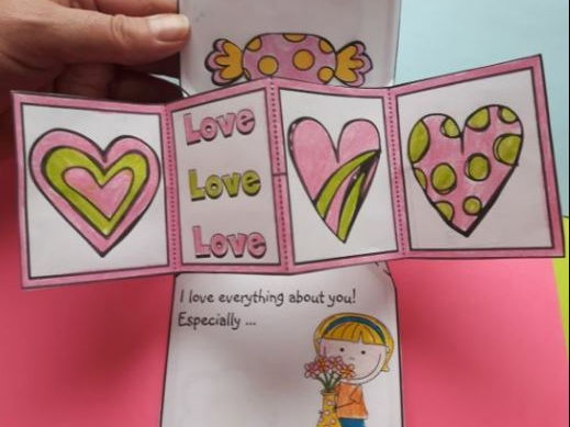 Mother's Day Crafts - Twist POP-UP Craftivity