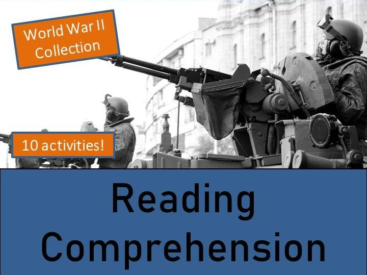 World War II Collection - Reading Comprehension Activity Book