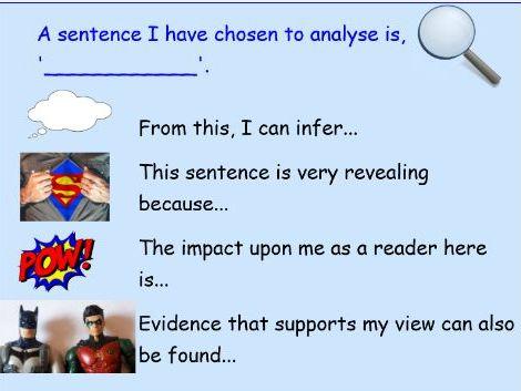 Superhero Sentence Analysis