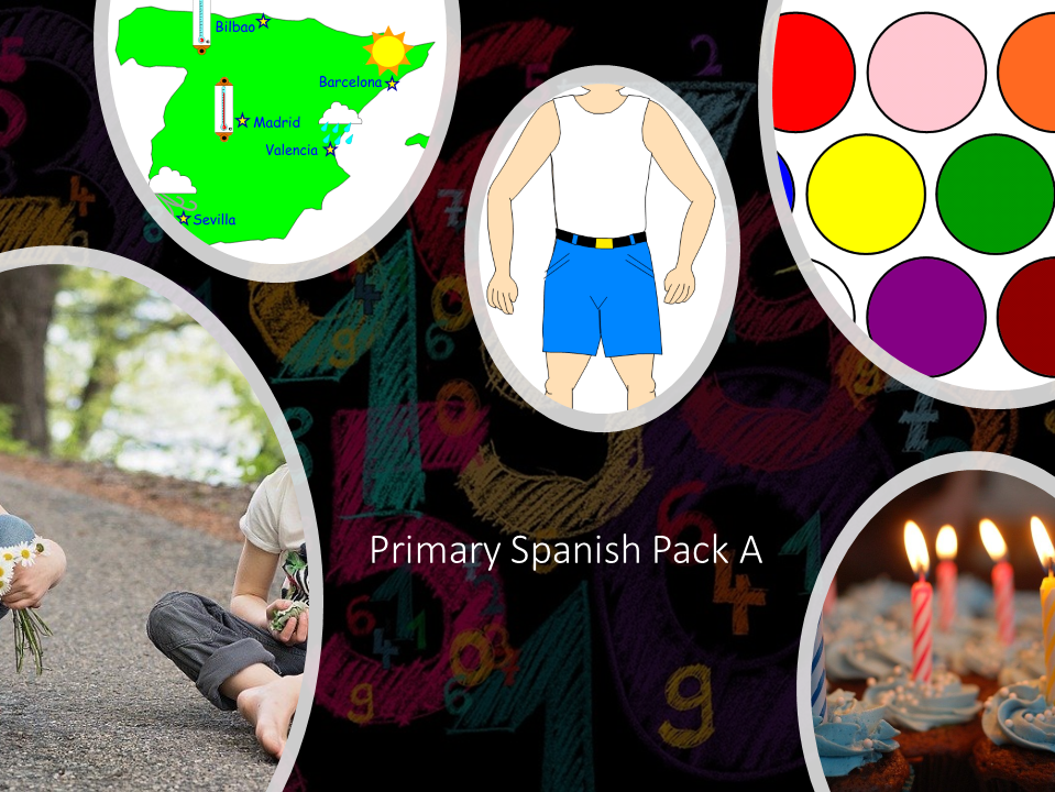 Primary Spanish Pack A