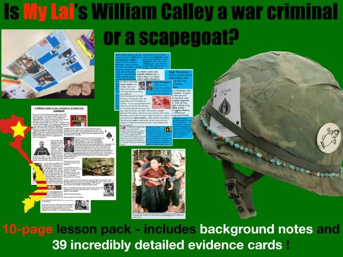 My Lai - 10 page lesson pack