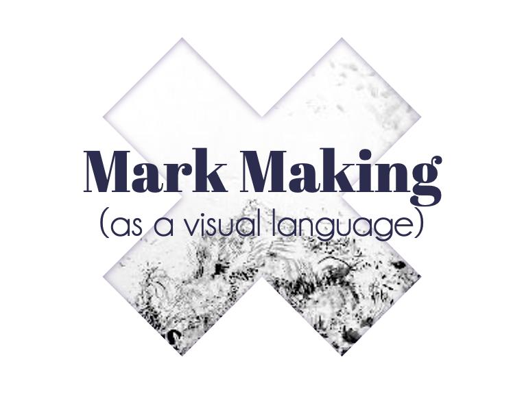 Mark Making PowerPoint Presentation   Modern and Stylish