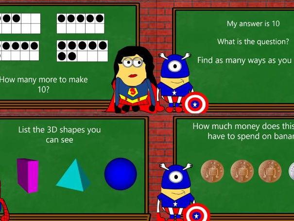 Maths Starters for KS1