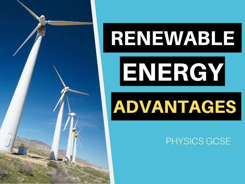RENEWABLE ENERGY ADVANTAGES VIDEO