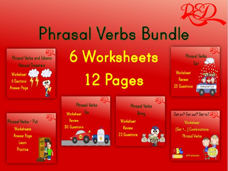 Phrasal Verbs Printable Bundle
