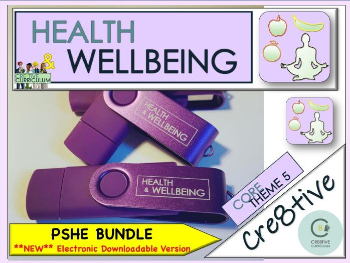 PSHE Health & Wellbeing Purple Bundle Planning