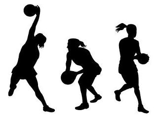 Netball skills workout