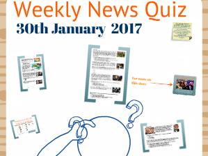 Weekly News Quiz 30/01/17 (Full Prezi Version)