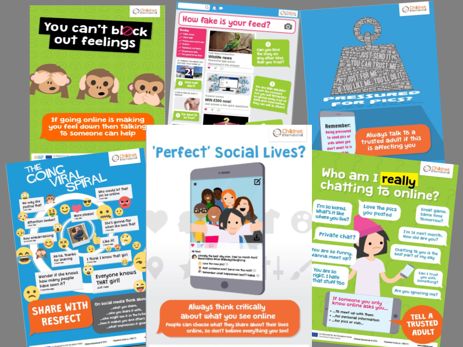 Online safety poster pack