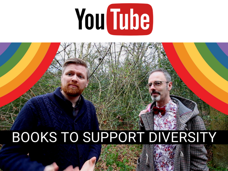BOOKS TO SUPPORT DIVERSITY | LGBT HISTORY MONTH | EYFS & PRIMARY