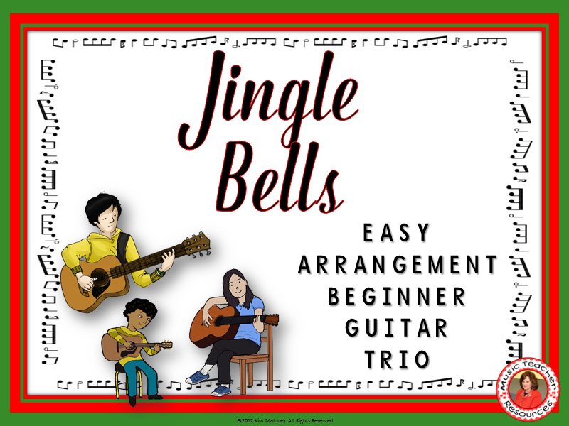 Jingle Bells: Guitar Trio
