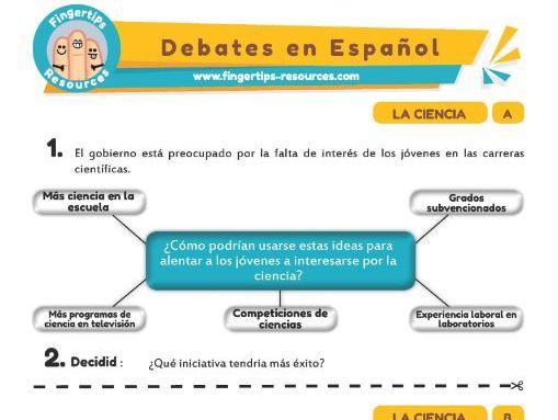 Ciencia - Debates in Spanish