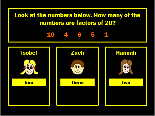 Factors Powerpoint Game by Arithmetickx