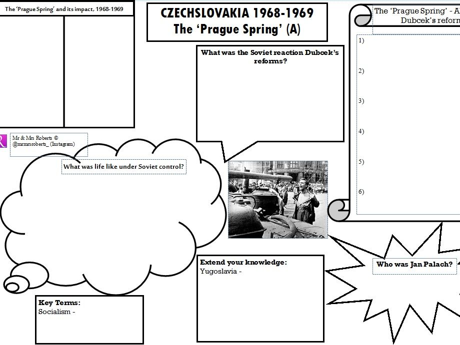 Edexcel GCSE History - Cold War - Topic 2 - The Prague Spring PART A
