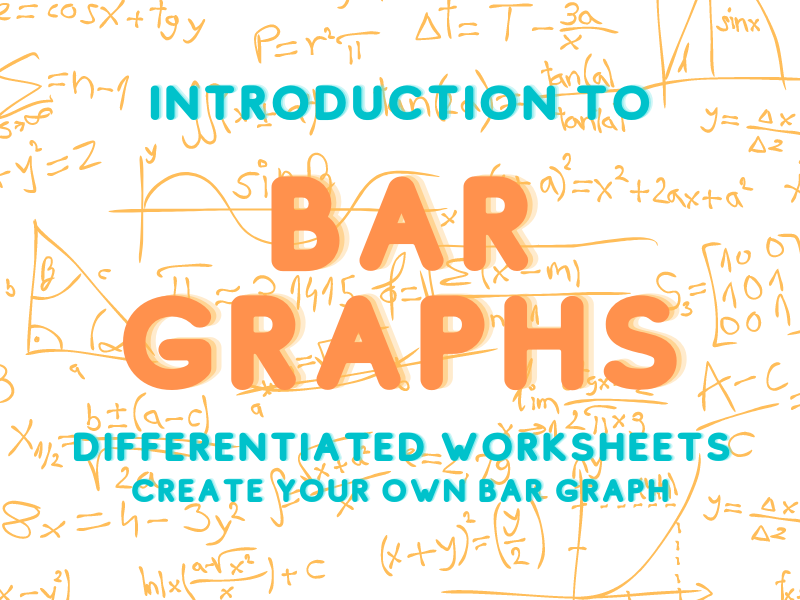 Create a Bar Graph Differentiated Worksheet - Noah's Ark Themed