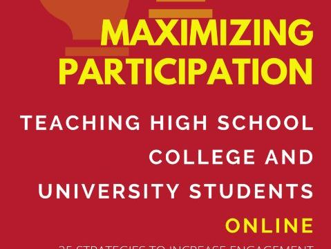 Maximise Participation Online - 25 Engagement Strategies for teaching online lessons